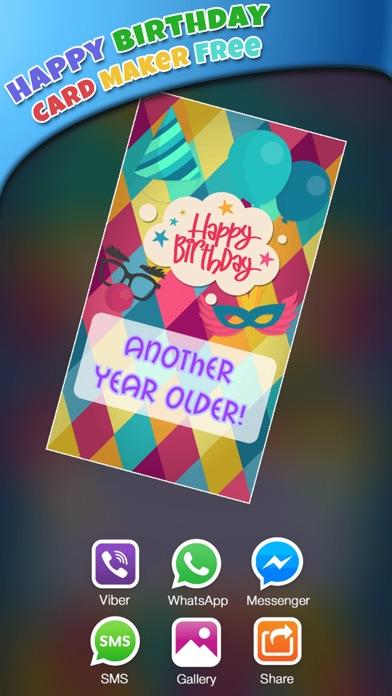 誕生日 カード 編集者 無料 - 作ります グリーティングカード そして 招待状紹介画像1
