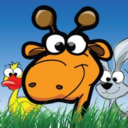 Cartoon Animal Stickers