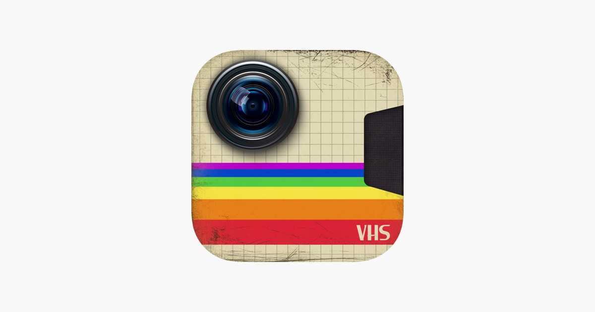 Grunge Camera Effect : Retro vhs old school video camcorder camera im app store