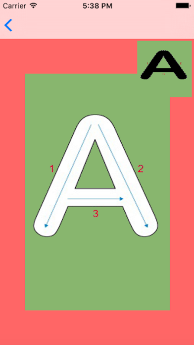 Abc Letter Tracing - Learn to Write Educational Preschool Kids & Toddlers Learning Games screenshot two