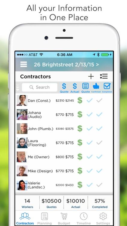 Home Improvement Planner (HIP) screenshot-0