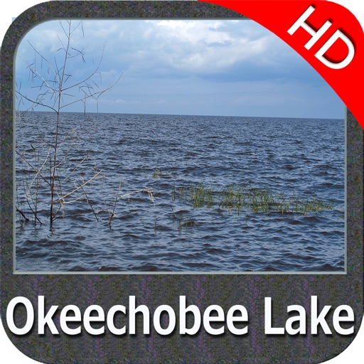 Lake Okeechobee Florida HD GPS fishing chart
