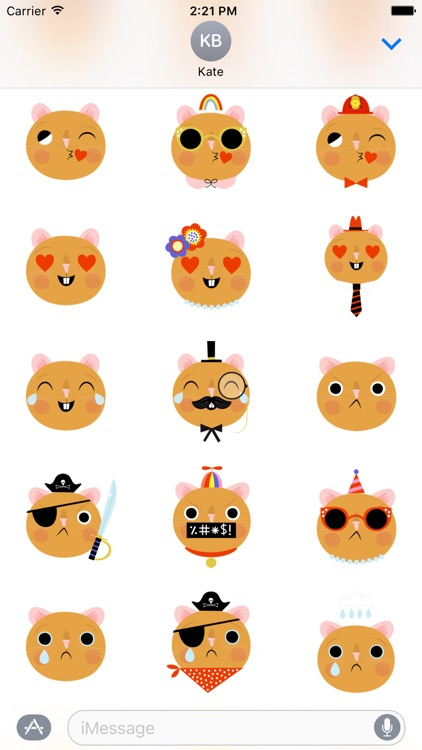 Emoji Pals - Quinn stickers screenshot-4