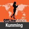 Kunming mapa offline y guía de viaje
