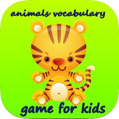 vocabulaire jeu d'animaux pour les enfants - les premiers mots pour les enfants à écouter, apprendre, parler avec le vocabulaire en anglais avec des animaux