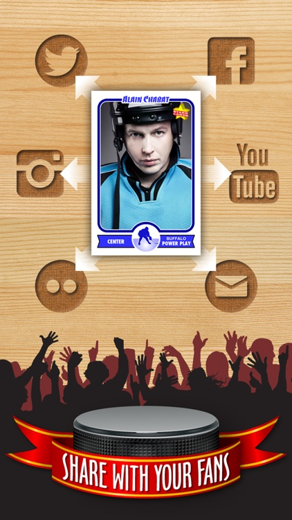 Hockey Card Maker - Make Your Own Custom Hockey Cards with Starr Cards screenshot-3