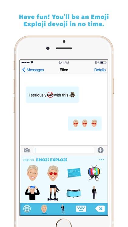 Ellen's Emoji Exploji screenshot-4