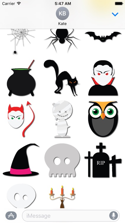 Halloween Elements for iMessage