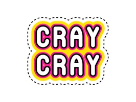 Add some style to your conversations with this cray sticker pack