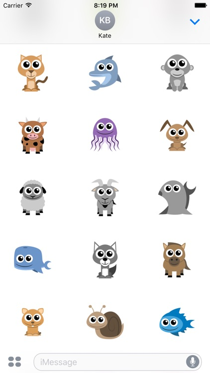 Adorable Animal Stickers screenshot-2
