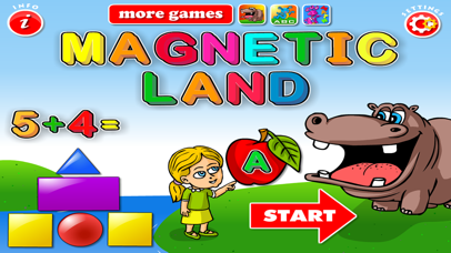 ABC Magnetic Land: Learn Alphabet,Shapes & Letters screenshot 2