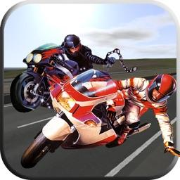 Fighting Road Rash - Moto stunt biker