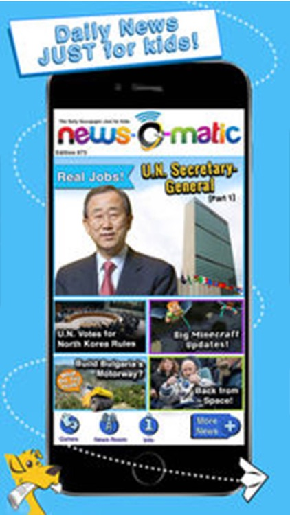 News-O-Matic 1-2 for Home, Daily Reading