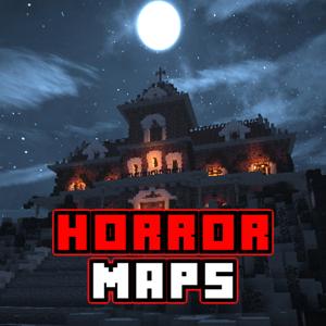 Horror MAPS for MINECRAFT PE (Pocket Edition) app
