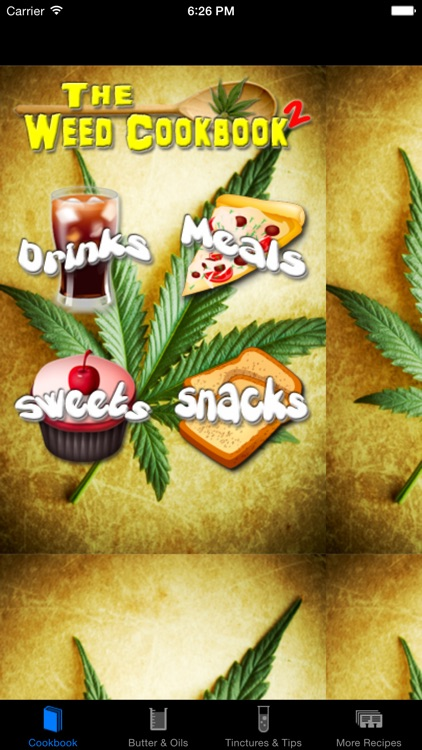 Weed Cookbook 2 - Medical Marijuana Recipes & Cook screenshot-2