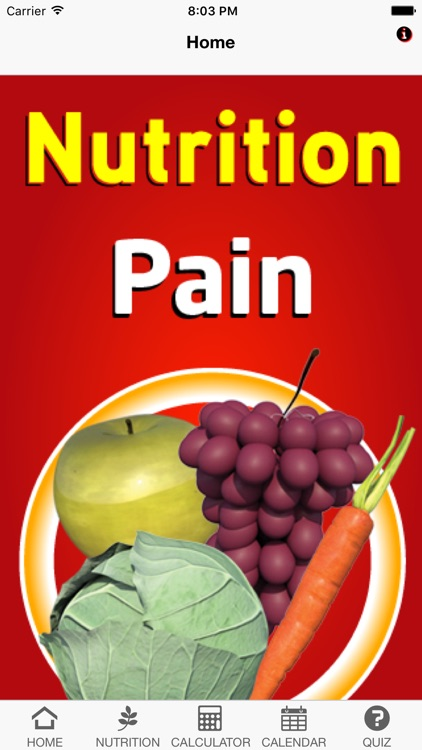 Nutrition Pain screenshot-0