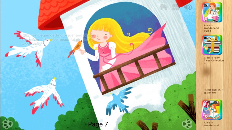 Rapunzel - Bedtime Fairy Tale iBigToy screenshot-2