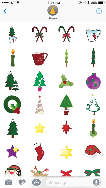 haero Xmas Stickers screenshot-3