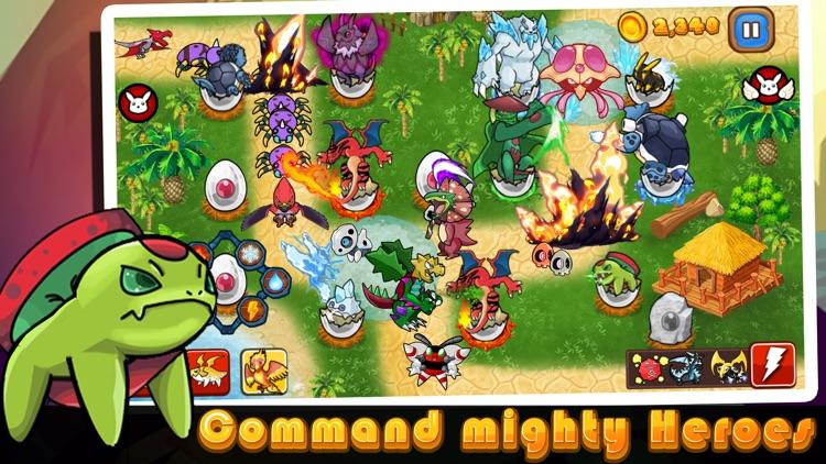 Cutie Monsters Tower Defense-Cute Monster Stickers