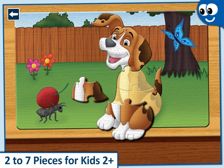 Kids Puzzles 2+:  Jigsaw Puzzle School Learning Game for Preschoolers and Toddlers to Develop Concentration and Problem Solving Skills