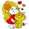 ADO MIZUMORI Cutie Stickers