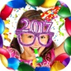 New Year Photo Stickers - Christmas Decorations