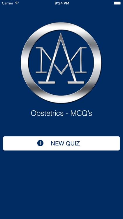 Obstetrics - MCQ'S
