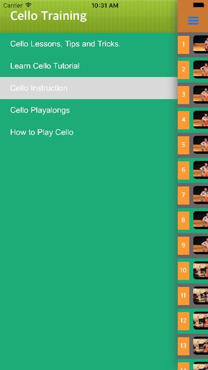 Easy Cello - Cello Music Lessons Exercises screenshot-3