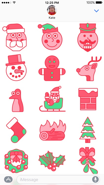 Yuletide Stickers