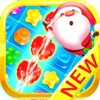 Candy Gems Christmas - Match 3 Lollipop Puzzle