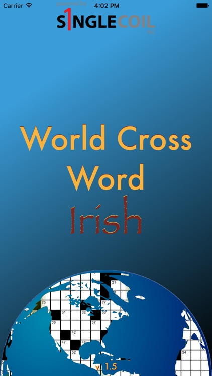 World Cross Word Irish