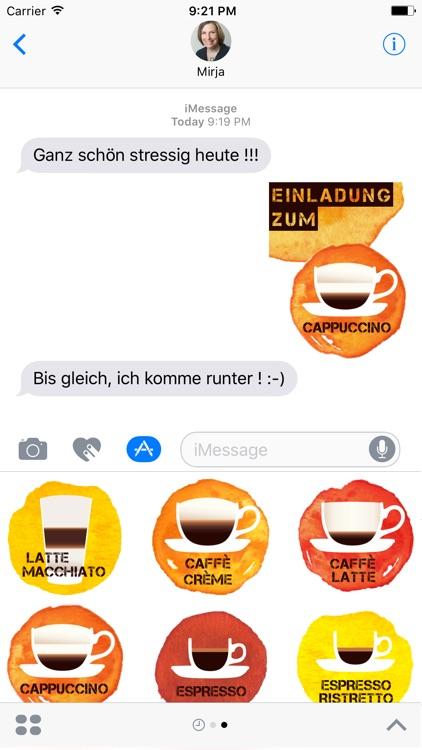 Kaffee-Chat