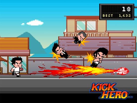 Kick Hero на iPad