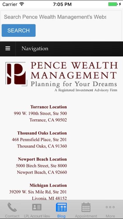 Pence Wealth Management
