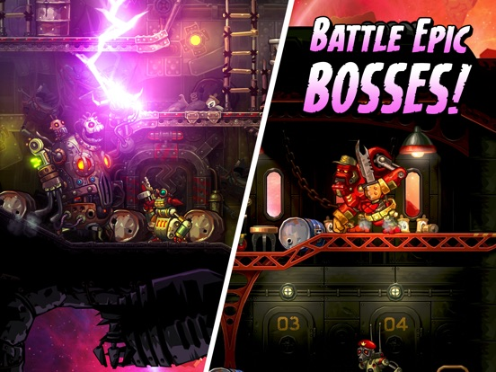 Screenshot #5 for SteamWorld Heist