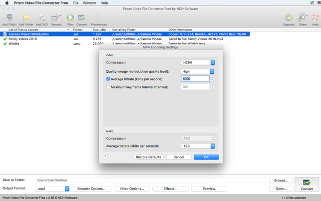 Prism Video File Converter Free on the Mac App Store