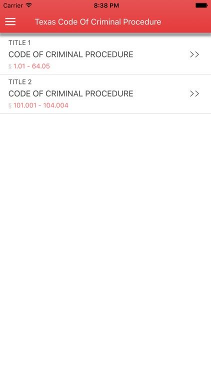 Texas Code of Criminal Procedure 2017