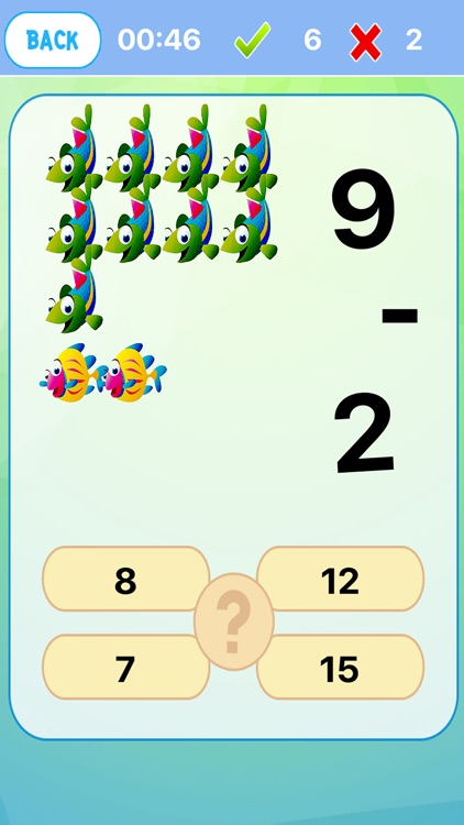 Easy Cool Math Kids Learning Fish Version by Patara Ruthai