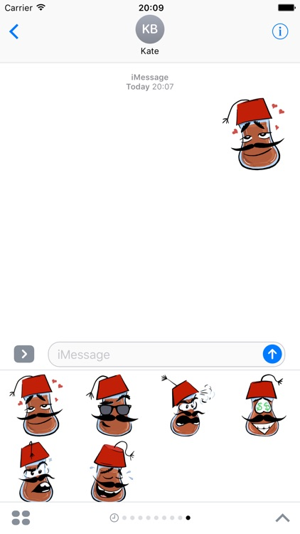 Bardak Abi  - stickers for iMessage