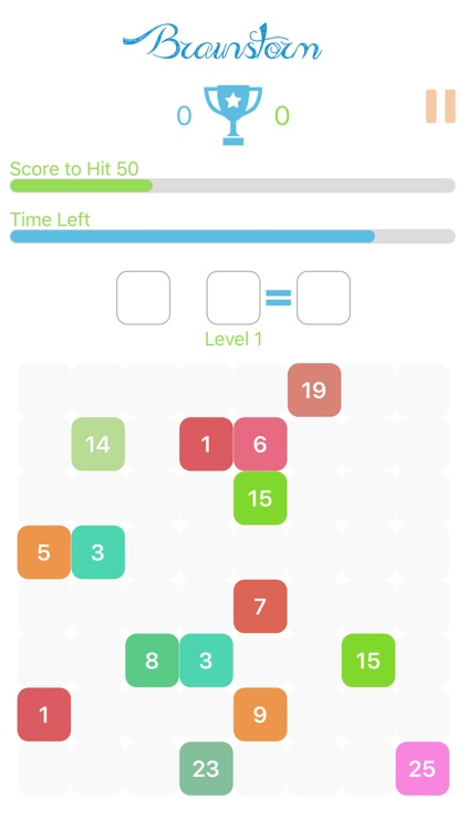 Brainstorm - Free math game for kids and toddlers screenshot-3