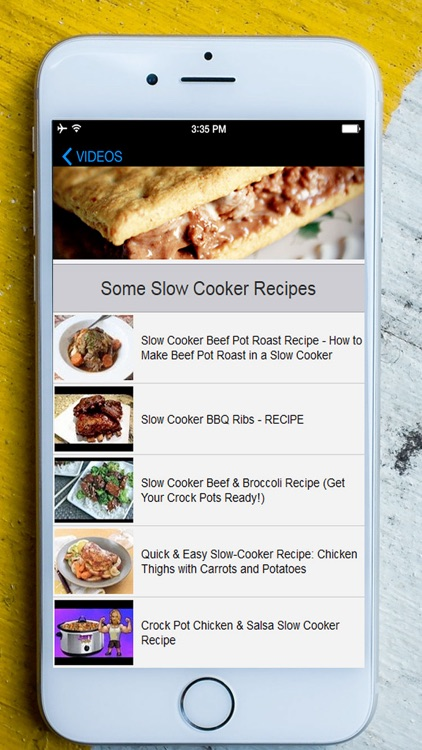 Healthy Slow Cooker Recipes - It's a Best & Easy Family Fresh Meals screenshot-4
