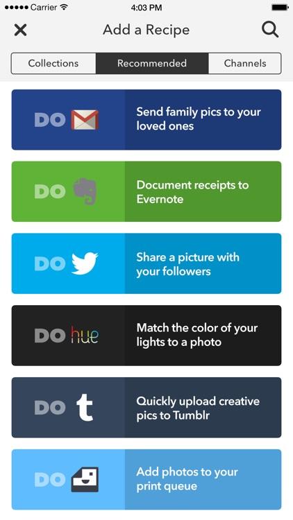 DO Camera by IFTTT screenshot-3