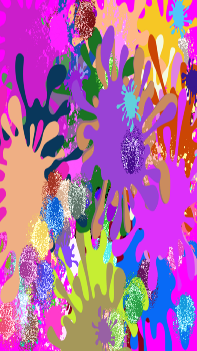 Kid's Splatter Paint Screenshots