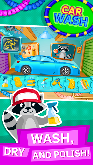 Car Wash Games for Kids and Toddlers. Premium screenshot one