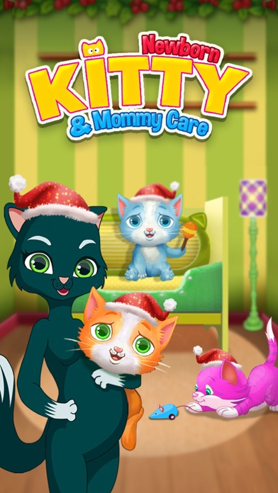 My Newborn Kitty Mommy Cat Pregnancy - Kids Games