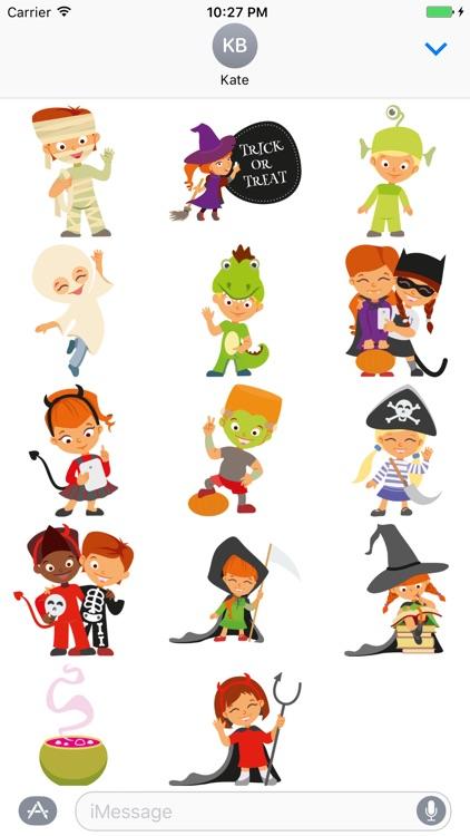 Crazy Halloween Sticker for iMessage #6