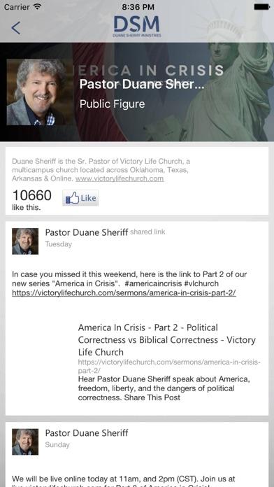 Screenshot #3 for Duane Sheriff Ministries