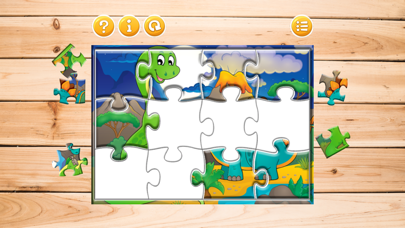 Kids Dinosaur Dino Puzzle Games For Toddlers Boys screenshot three