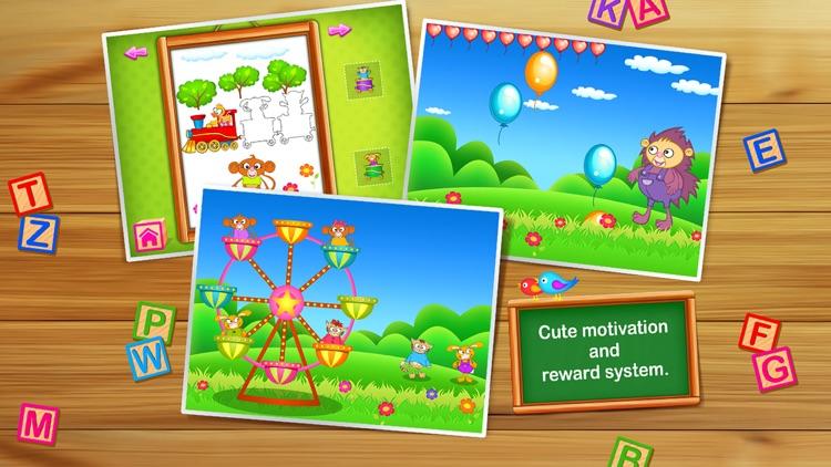 123 Kids Fun GAMES - Preschool Math&Alphabet Games screenshot-4