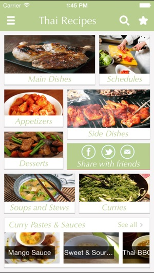 Thai food recipes best cooking tips ideas on the app store iphone ipad forumfinder Images